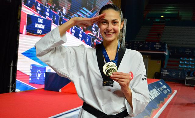 Milli Tekvando Oyuncusu İrem Yaman G4 Ekstra'da Altın Madalya Sahibi Oldu